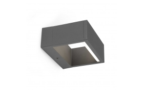 ALPI LED dark grey wall lamp ,LED included