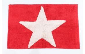 bathmat Star, red