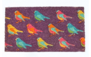 Doormat with birds