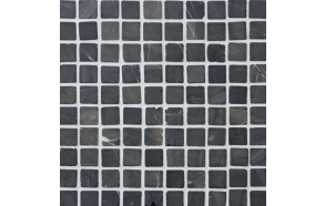 Square Grey marble 30x30mm