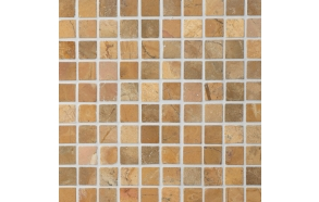 Square Mustard marble 30x30mm