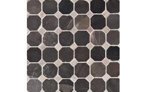 Classic Pattern 50x50mm Grey-White