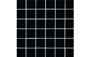 Klaasmosaiik Crystal Black, 48x48x8mm (300x300x8mm)