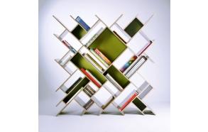Bookcase comb, pine