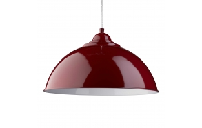 ceiling lamp,red, E27, 1X60W