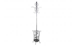 metallist riidenagi, hall, 38x36x176 cm