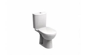 Rimfree wc compact, p-trap, Nova Pro, dual flush, no seat