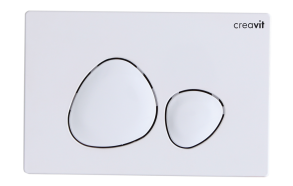 flush plate Spa, white
