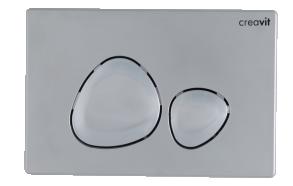 flush plate Spa, mat chrome