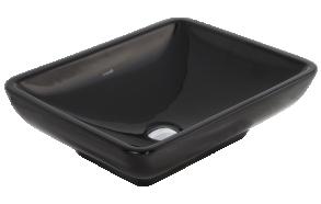 worktop washbasin, black