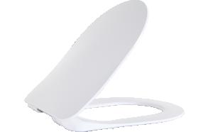 SOFT CLOSING SEAT COVER WHITE, for models MOON, VITROYA, TP325, TP328, FE320, FE321
