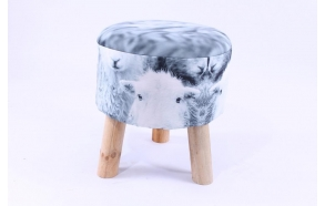 stool with sheep