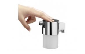 BOLD soap dispencer, chrome,, no screw assembling with item 4008913986400