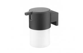 BOLD soap dispencer, black,, no screw assembling