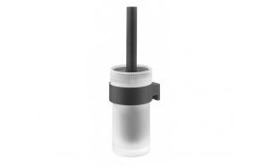 wc hari Bold, klaas+metall, matt must, kruvivaba paigalduse võimalus tootega 4008913986400