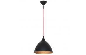 ceiling lamp Loft, black, E27,1X40W