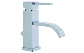 basin mixer Pretty with pop-up waste, chrome