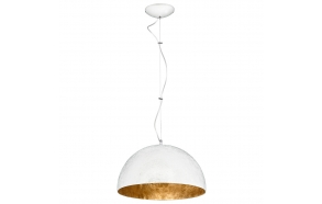 ceiling lamp white+gold, E27,1X40W