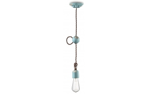 ceramic ceiling lamp Retro, E27,1X70W
