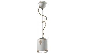 ceramic ceiling lamp Retro, E27,1X70W