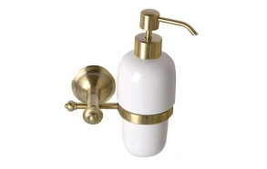 ASTOR soap dispenser, bronze
