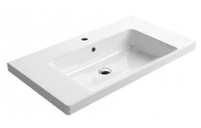 NORM ceramic washbasin 90x18x50cm