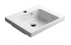 NORM ceramic washbasin 55x18x47cm