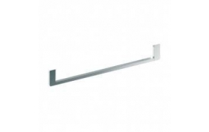 NORM Single towel holder 120cm, chrome