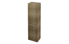 LARITA storage cabinet 40x140x30cm, right, oak graphite