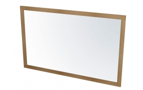 LARITA mirror 120x75x2cm, oak natural