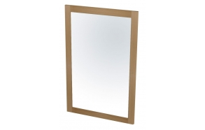 LARITA mirror 50x75x2cm, oak natural