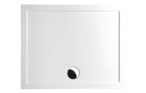 KARIA cast marble shower tray, rectangle 90x70x4cm
