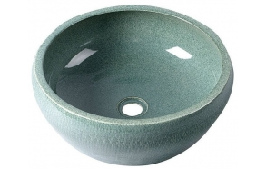 PRIORI ceramic basin diameter 42cm, ceramic, mint color