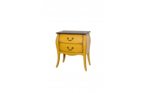 nightstand Mellow, yellow, wood