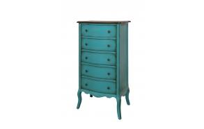 drawer Mellow,blue, wood