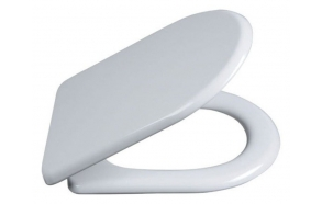 Dynasty Soft Close toilet seat, antibacterial, duroplastic, white,