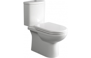 wc kompakt, universaalne trapp, veevõtt paagi all, iste ei kuulu komplekti (71113333+71113400+IT5030)