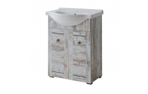 cabinet under washbasin Provence 65 cm (2D), basin not included