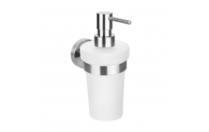 NEO Soap Dispenser 230ml, Brushed stainless steel