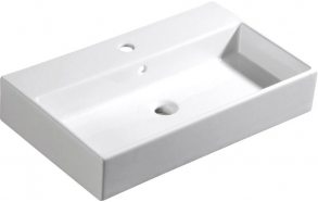 PURITY ceramic washbasin 70x42cm