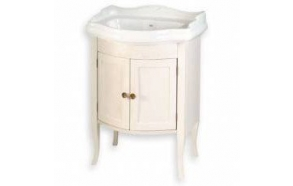 RETRO vanity unit 60x80x45cm, old white, basin not included