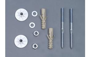 UAK14 Basin fixing kit, screw 10x120
