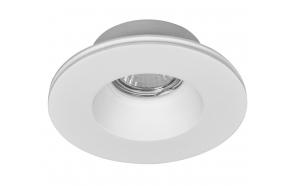 GIP gypsum ceiling light, 130 mm, GU10, max 35W