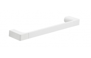 PIRENEI Towel Holder 350x66mm, white matt