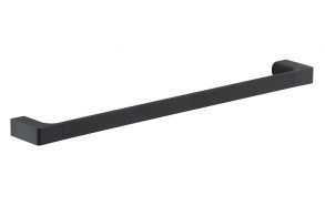PIRENEI Towel Holder 600x66mm, black matt