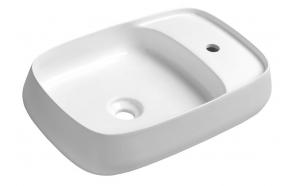 AVENTIN Ceramic Washbasin 60x40 cm, incl. Ceramic Washbasin Waste