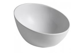 DOME OBLIQUO Counter Top Ceramic Washbasin diam. 44,5 cm