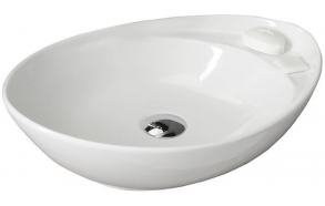 BEVERLY Counter Top Ceramic Washbasin 56x17x37 cm(without overflow hole)