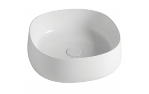 JUMPER Counter Top Ceramic Washbasin 42x15x42 cm(without overflow hole)