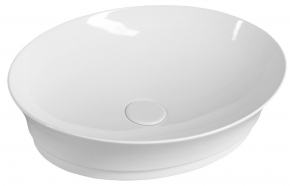 IDEA Counter Top Ceramic Washbasin 50x13x38 cm (without overflow hole)